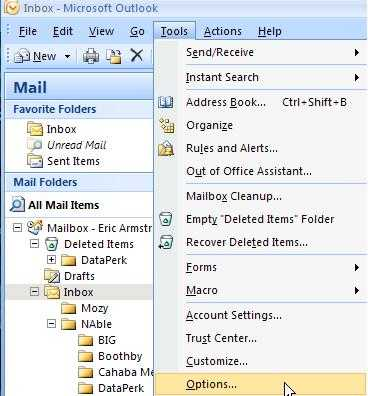 how to delete junk mail in outlook